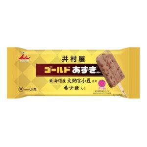 井村屋 ゴールドあずきバー 20本【アイス専用梱包】