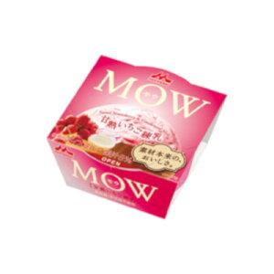 森永乳業 MOW(モウ) 甘熟いちご練乳 140ml 18個【送料無料】北海道、沖縄、その他離島は別途送料がかかります。