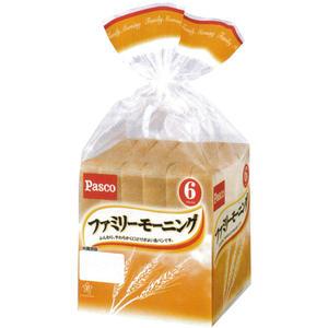 【バラ売】パスコ ファミリーモーニング (食パン) 6枚切