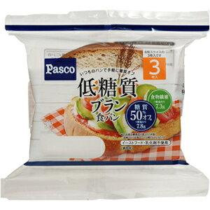 パスコ 低糖質ブラン食パン3枚入