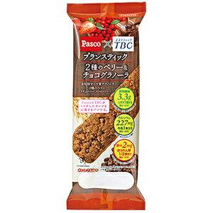 パスコ ブランスティック 2種のベリー&チョコグラノーラ 10袋