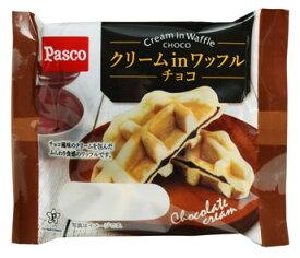 パスコ クリームinワッフル チョコ 10個
