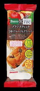 パスコ ブランスティック 5種のフルーツ&チョコグラノーラ 10袋