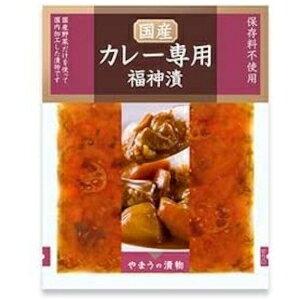 やまう 国産野菜 カレー専用福神漬 100g 【10パック】