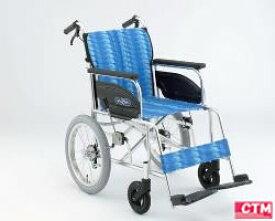 車椅子 車いす 介助式車椅子 日進医療器 NAH-446A アルミ製車いす 【アルミ製車椅子】 【プレゼント 贈り物 ギフト】【介護】