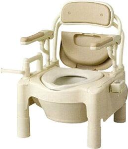 ポータブルトイレ 【送料無料】 今だけのキャッシュバック!! FX-CPはねあげ <暖房便座>ノーマル アロン化成【介護用・簡易トイレ】【簡易 洋式トイレ】