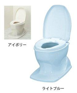 簡易設置洋式トイレ 【送料無料】 サニタリエースOD据置式(プラスチック便座) アロン化成【簡易 洋式トイレ】