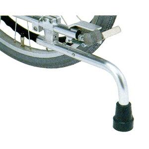 車椅子(車いす) 回転式転倒防止装置付 足踏み式ブレーキ 16〜14インチ車輪用 【日進医療器】 【KF-31S】