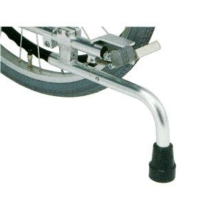 車椅子(車いす) 回転式転倒防止装置付 足踏み式ブレーキ 24〜18インチ車輪用 【日進医療器】 【KF-31L】