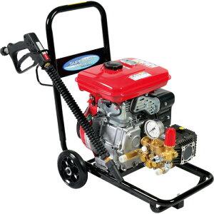 【スーパー工業】 エンジン式高圧洗浄機 コンパクト&カート型 [SEC-1310-2]