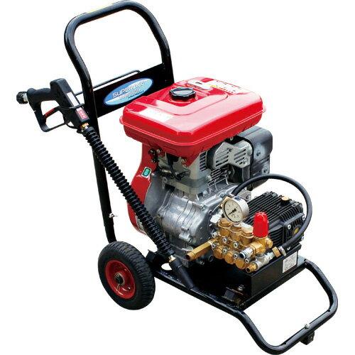 【スーパー工業】 エンジン式高圧洗浄機 コンパクト&カート型 [SEC-1520-2]
