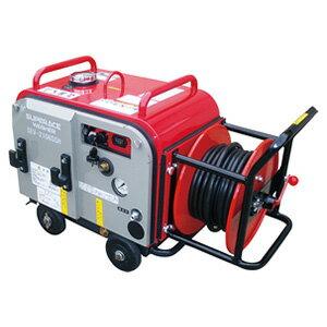 【スーパー工業】 エンジン式高圧洗浄機 防音型 ホースリール付 [SEV-3007SSH]