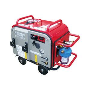 【スーパー工業】 エンジン式高圧洗浄機 防音型 ラインストレーナ付 [SEV-3007SSR]