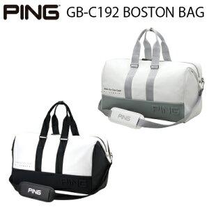 PING ピンゴルフGB-C192 BOSTON BAGボストンバッグ ボストンバック バッグ【日本正規品】
