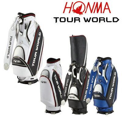 【がんばるべ岩手】【HONMA】ホンマ ゴルフ 本間ゴルフTOUR WORLD  CB-1807 キャディバッグ キャディバック 2018年モデル