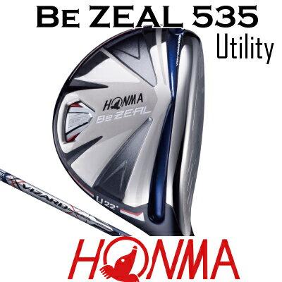 HONMA GOLF ホンマゴルフ Be ZEAL 535 ビジール535 ユーティリティ UT VIZARD for Be ZEALシャフトホンマゴルフ