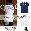 【がんばるべ岩手】ラフ&スウェル ゴルフ rough & swell golfRSM-17016 ROONEY ラフアンドスウェルポロシャツ