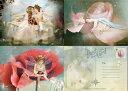 ポストカード3枚セット 天使 妖精 絵画 メッセージ カード フェアリー エンジェル フォトグラフ アート Charlotte Bir…