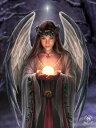 ユールエンジェル 3D ファンタジー アート ポストカード ハガキ【アン ストークス】妖精 天使 絵画 フェアリー エンジェル イギリス 英国