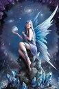 スターゲイザー 3D ファンタジー アートポストカード ハガキ 【アン ストークス】妖精 天使 絵画 フェアリー エンジェル イギリス 英国