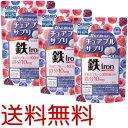 送料無料【アウトレット/3個セット】かんでおいしいチュアブルサプリ 鉄 120粒 オリヒロ