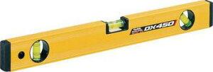 タジマツール 水平器 マグネット付ボックスレベルデラックス 450mm BX3-D45M
