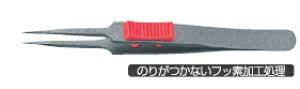 ANEX アネックス ラバーグリップ付ピンセット ステン(SUS410) 極細鋭型 No.224