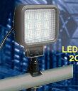ウイングエース LED投光器【屋外防雨型】 サンダービーム LED-205