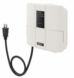 タカショーエクステリア LEDIUS ローボルトトランス(12V専用) 35W 常時点灯回路付 HEA-021I(013I)(アイボリー) プラグ付