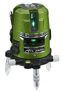 KDS リアルグリーンレーザー墨出し器 ATL-25RG(本体のみ)【受光器・三脚は別売】