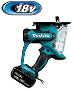 マキタ電動工具 18V充電式ボードカッター SD180DRGX【BL1860B×2個・充電器・ケース付】