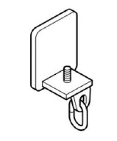 TOSO 天井吊式カーテンレール ニューリブ キャップストップ