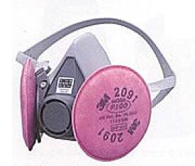 3M アスベストマスク 防じんマスク 6000/2091-RL3 サイズM