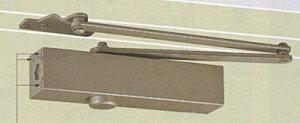 ドアクローザー NEWSTAR ニュースタードアクローザー PS-7002A(パラレル型・ストップ付) 段付ブラケット ドアチェック