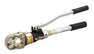 DENSAN(デンサン/ジェフコム) 手動式油圧圧着工具セット DCH-150EN