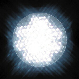 JEFCOM(ジェフコム電材・照明機器) LEDサイン球 LED18個(E26) 白 P18W-E2601-W