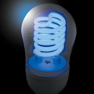 JEFCOM(ジェフコム電材・照明機器) 冷陰極スパイラル球(高速点滅使用対応) 5W ブルー PCF05-E26-B