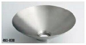 KAKUDAI カクダイ 鉄穴(かんな) 493-038 丸型手洗器 ステンレス