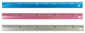 シンワ測定 アルミ直尺アル助 カラー仕上げ 30cm-各色