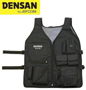 DENSAN(デンサン/ジェフコム) ロングツールベスト TLV-10