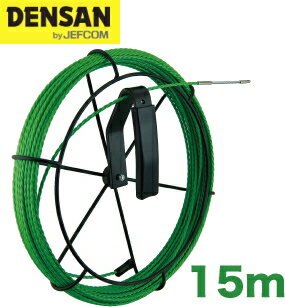 DENSAN(デンサン/ジェフコム) 呼線リール付セット GX-3515J-RL 【リール+グリーンスリムライン15m】