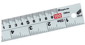 新潟精機/SK 併用シルバースケール 快段目盛 [呼び寸法:100cm] CSS-100KD