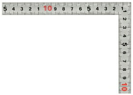新潟精機/SK 快段目盛 シルバー曲尺 黄龍 [呼び寸法:30cm/角部同厚] SDD-30CKD