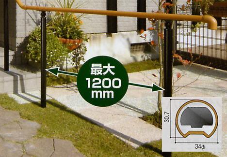 積水樹脂 セキスイ セイフティプラス SP手すり笠木(手すり本体) 2m 【メーカー直送品のため代金引換便はご利用になれません】