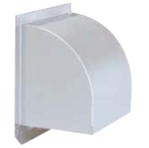 西邦工業 外壁用ステンレス製換気口〈ウエザーカバー〉金網型3メッシュ 防火ダンパー付(前フューズ/72℃) 大口径 WCD300S A寸法300 標準品【3メッシュ】