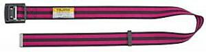 タジマツール 安全帯胴ベルト AL145 ボーダーピンク アルミワンフィンガーバックル AL145-BPI Lサイズ
