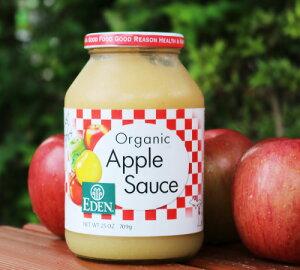 アリサン エデン オーガニック有機 アップルソース(りんご)709g アメリカ産 無砂糖 有機 ベジタリアン りんごジャム 林檎ジャム アップル ペースト オーガニック 賞味期限:2022.12.31