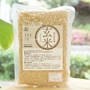 国内産有機玄米(コシヒカリ)/300g【オーサワジャパン】