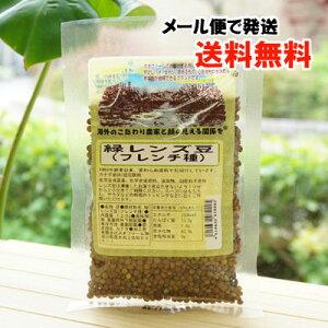 緑レンズ豆 (フレンチ種) /120g【ネオファーム】【メール便の場合、送料無料】