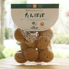 ナチュラルビーガンクッキー(たんぽぽ)/80g【茎工房】